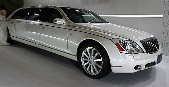 Image result for maybach landaulet limo