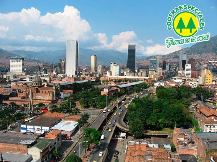 #Medellin ejemplo de pujanza, fuerza, honestidad y amor por el trabajo. #Cootraespeciales se siente orgullosa de ser Antioqueño y de hacer parte de un grupo de empresas líderes que ponen muy en alto el nombre de nuestra ciudad.