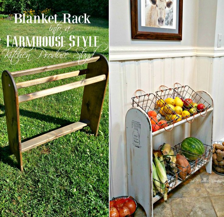 Redo It Yourself Inspirations : Farmhouse Vegetable Stand