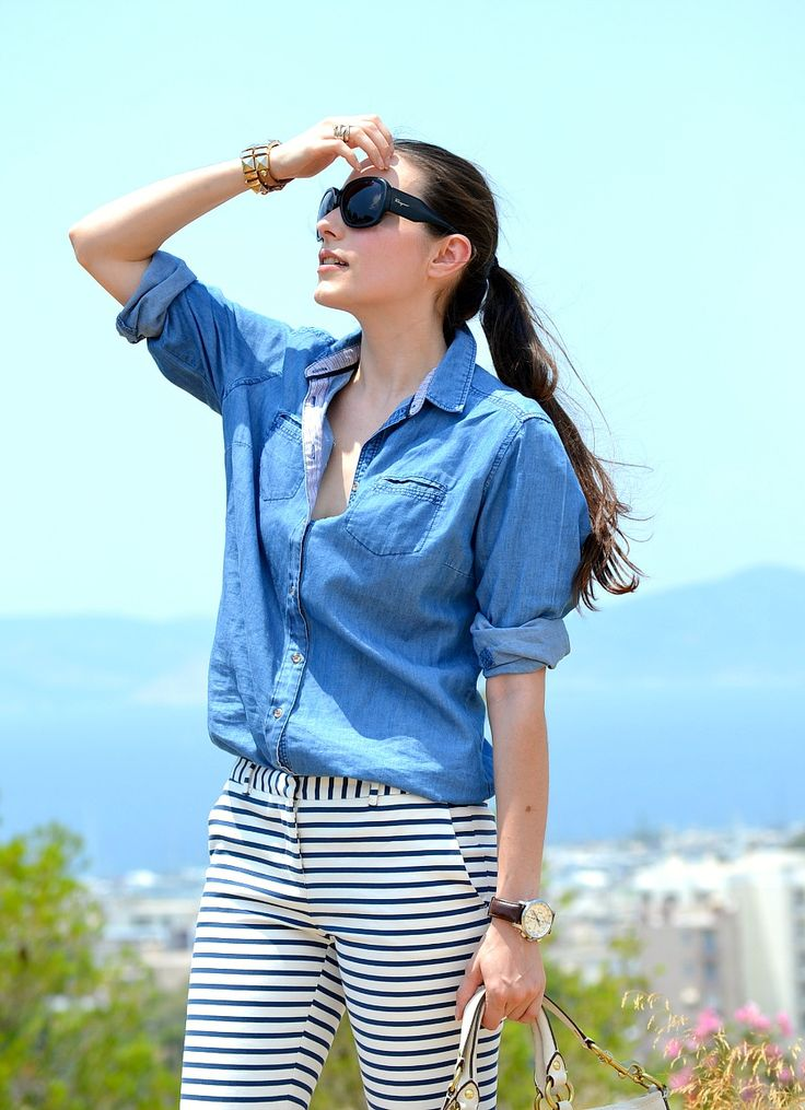 HOW TO WEAR YOUR OVERSIZED DENIM SHIRT #2 | STYLESCREAM.com