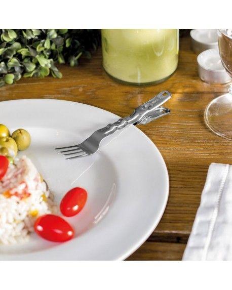 CLIP Etta la clip forchetta che rimane sempre accanto al tuo piatto! #forchetta #posate #clip