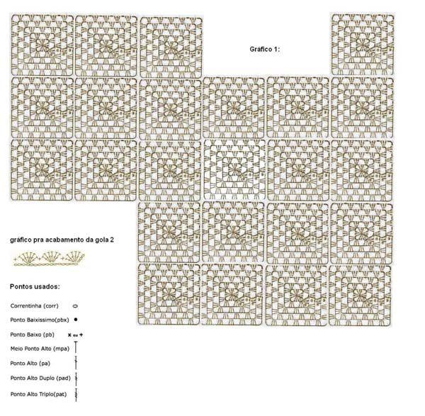 Material: 1 novelo Anne nas cores 3077 (rosa), 2829 (azul), 2194 (Azul), 7382 (marrom), 3583 ( vermelho), 5215 (verde), 6399 (lilás), 2470 (azul), 3301 (salmão) 8001 (branco), 7625 (bege) , 8990 (preto), 3528 (goiaba). Agulha para crochê Círculo nº 2,5 mm