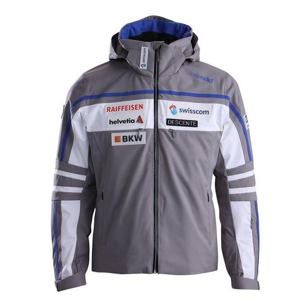 Descente Swiss Team Replica Mens Ski Jacket in Grey - http://www.white-stone.co.uk/mens-c272/ski-c275/ski-wear-c214/descente-swiss-team-replica-mens-ski-jacket-in-grey-p6083