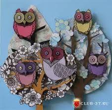 бумажные совы от Helen Musselwhite - Поиск в Google