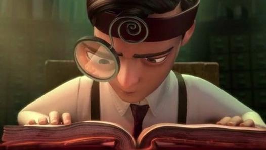 Une belle allégorie sur les gens qui consacrent leur vie aux livres, un film d'animation plein de poésie.