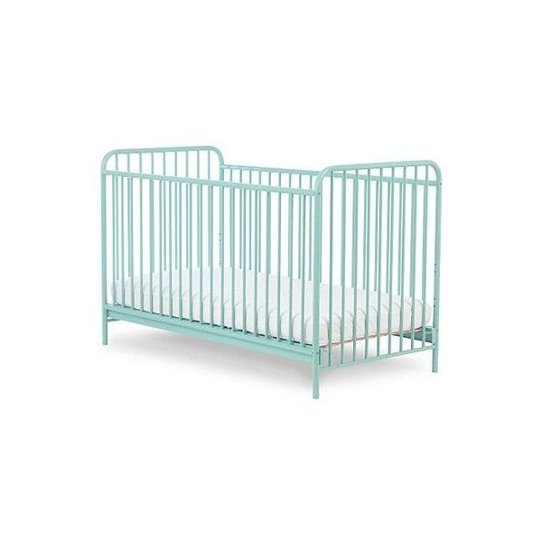 Mothercare Carnaby Cot Bed Turquoise (260 AUD) ❤ liked on Polyvore featuring home, children's room and children's furniture