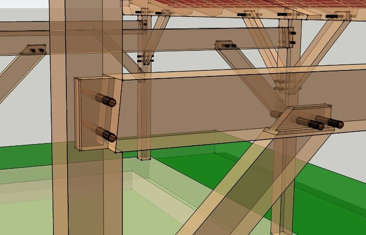 "1"" Diminished Housing Detail - Timber Frame HQ A diminished housing dresses up your frame and takes less time to cut in the shop. - http://timberframehq.com/1-diminished-housing-detail/?utm_content=buffer4f5f0&utm_medium=social&utm_source=pinterest.com&utm_campaign=buffer"