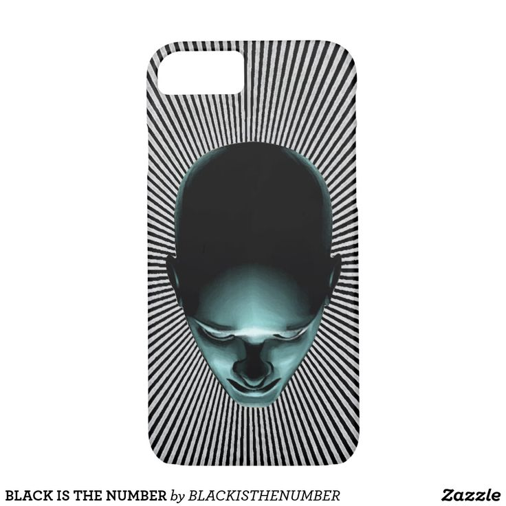 iPhone 7 Case by BLACK IS THE NUMBER