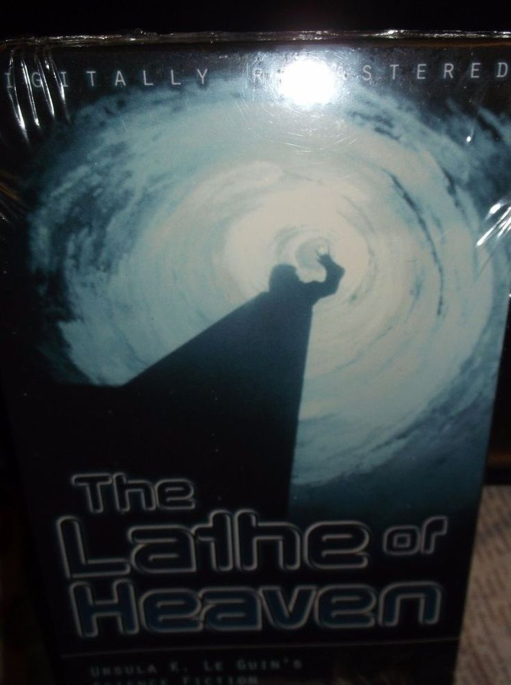 The Lathe Of Heaven VHS 1979  Bruce Davison Kevin Conway SCI-FI Color