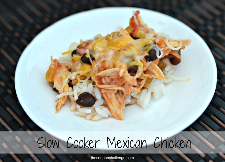 Mexican Chicken in CrockpotThe Coupon Challenge