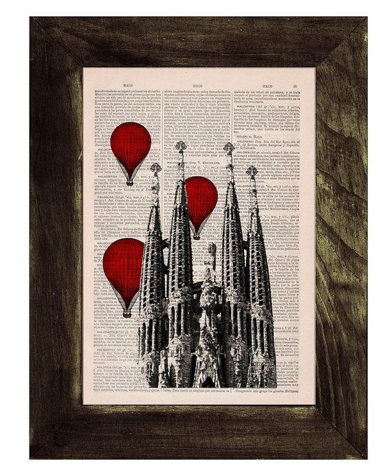 Artes decorativas barcelona sagrada familia globos de for Booking barcelona oficinas