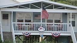 Second row beach cottage