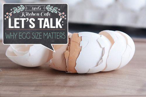 Lets Talk: Egg Size & Why It Matters Really nice recipes.  Mein Blog: Alles rund um die Themen Genuss & Geschmack  Kochen Backen Braten Vorspeisen Hauptgerichte und Desserts