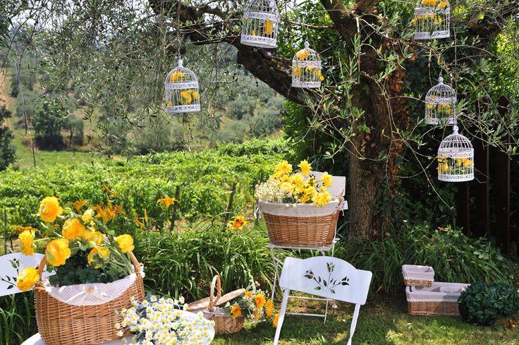 Giretto tra i colori della campagna Toscana.