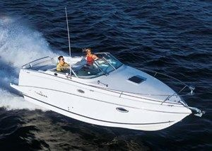 2004 Used Gas Rinker 250 Express Cruiser Cruisers Power Boat for Sale in Ontario From United City Yachts Inc.