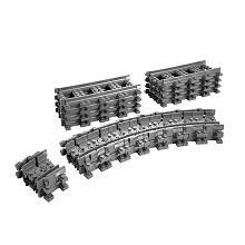 LEGO City Flexible Train Tracks (7499)