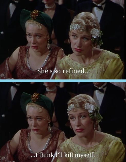 """People would actually say out loud the things they're thinking. 