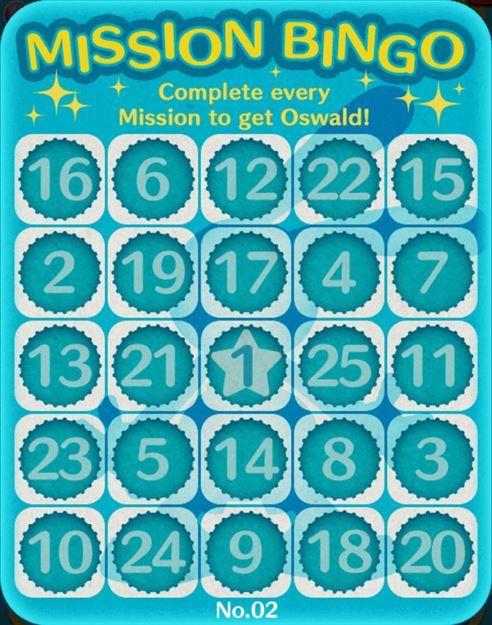 Tsum Tsum Mobile Game Bingo Card 2 Missions - Tsum Tsum Central