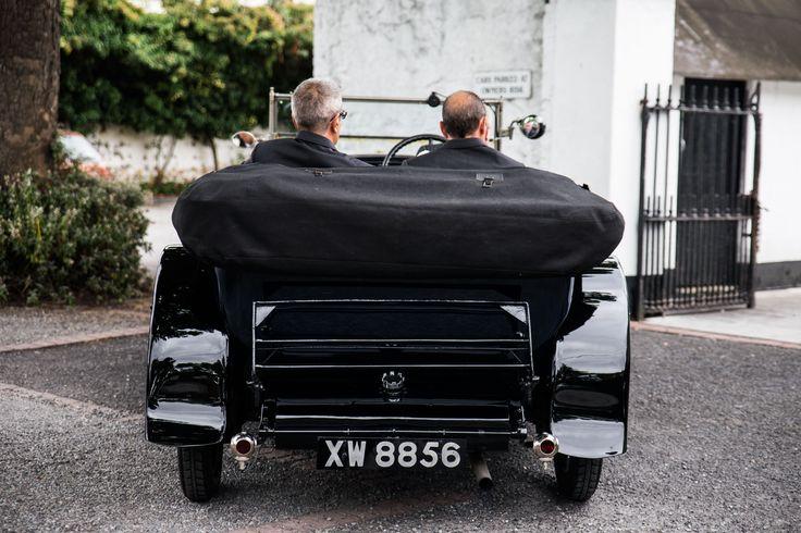 #Weddings #Groom #wedding photography #classic car #beaufield mews http://www.emmamay.ie/#!weddings/c11cj