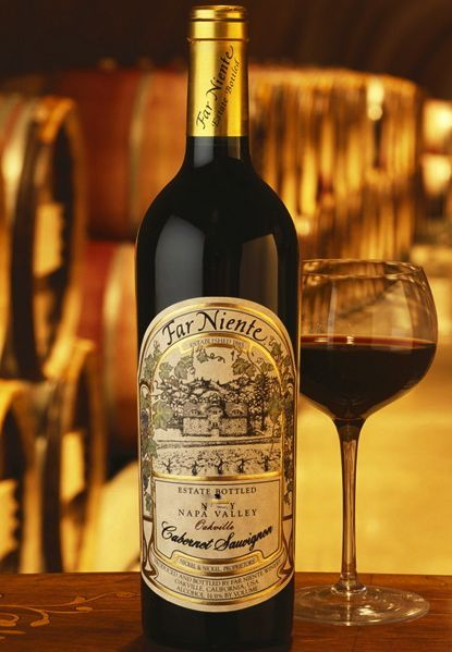 Far Niente Napa Valley eastate Cabernet Sauvignon. Um dos poucos Vinhos Tintos eu gosto.