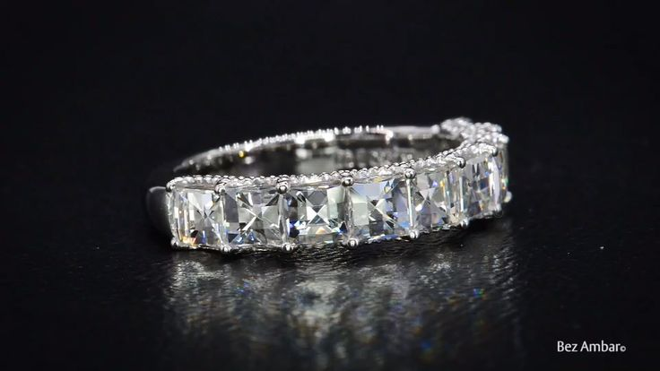 18KT White Gold Blaze® Diamond Band by Bez Ambar