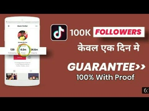 100k tik tok fans in one click without human verification  100