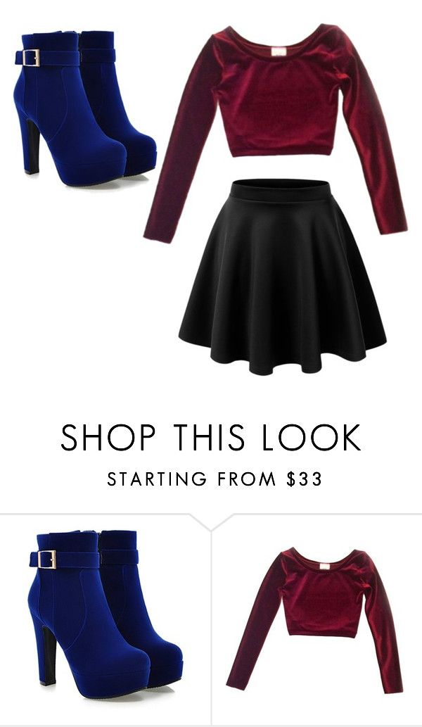 """Cute outfit"" by unicorn-636 ❤ liked on Polyvore featuring LE3NO"