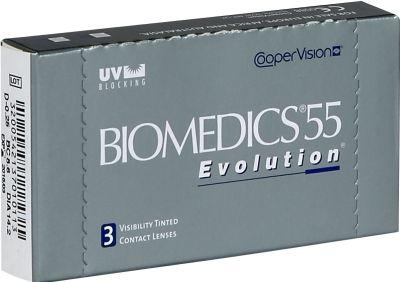 Biomedics 55 Evolution  Voici les lentilles de contact révolutionnaires Biomedics 55 Evolution fabriquées par CooperVision l'un des plus grands et plus fiables fabricants de lentilles de contact au monde. Conçues pour corriger les défauts sphériques naturelle..  EUR 6.98  Meer informatie