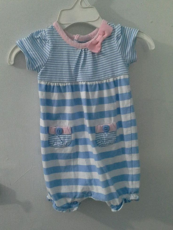 Carters Girl's Size 3 months Romper One piece, Kids Toddler Baby VGUC #Carters #DressyEveryday