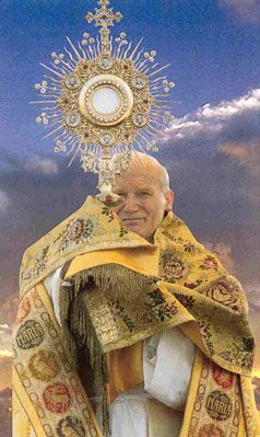 "A repin with the following text: The Most Blessed Sacrament, ""O Sacrament most holy, O Sacrament most divine, all praise and all thanksgiving be every moment thine."" #Pope #Catholic"