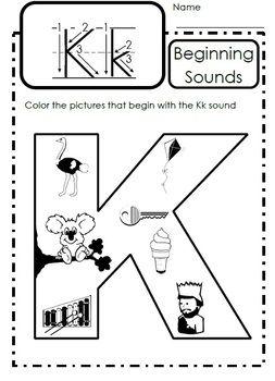 alphabet activities letter kk kindergarten teacher alphabet activities letter of the week. Black Bedroom Furniture Sets. Home Design Ideas