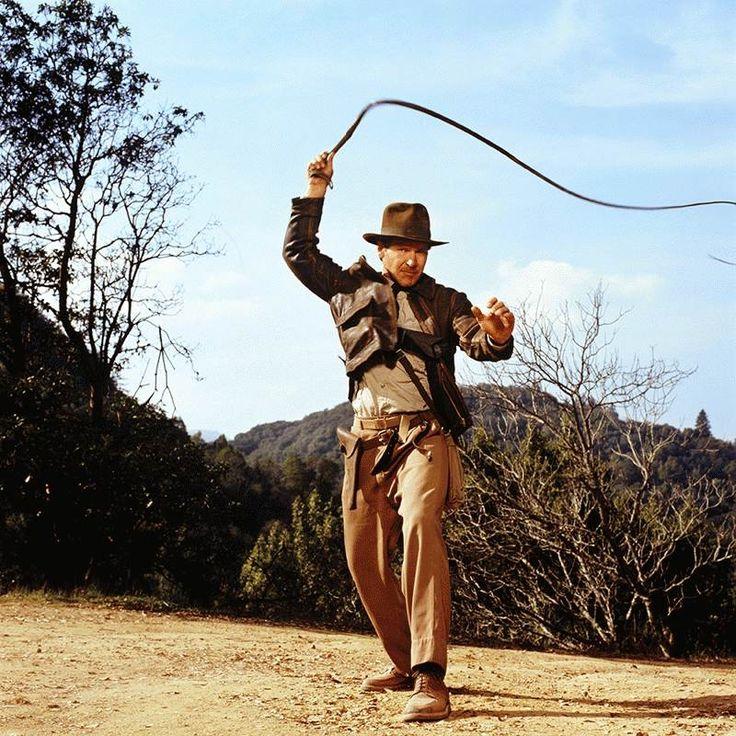 """Harrison Ford, por Terry O'Neill en el rodaje de """"Indiana"""