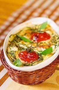 Photo de la recette Gratin de tomates au chèvre
