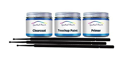 Spectral Paints - Ford RZ Red Candy 2 Metallic 1/2 oz. Bottle Touchup Paint Primer and Clear Coat with Brush - Touchup Paint Supplies