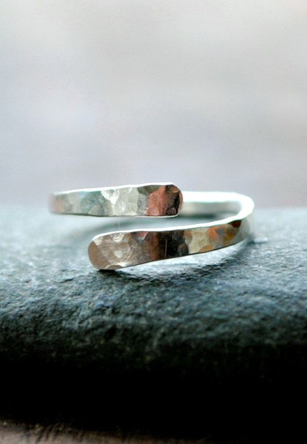 Knuckle Ring Sterling Silver Adjustable                                                                                                                                                                                 More