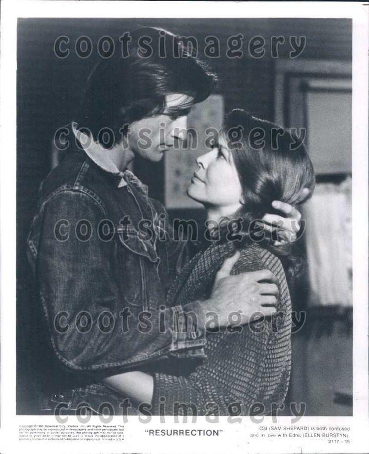 1980 Wire Photo Actor Sam Shepard Ellen Burstyn in Resurrection  | eBay