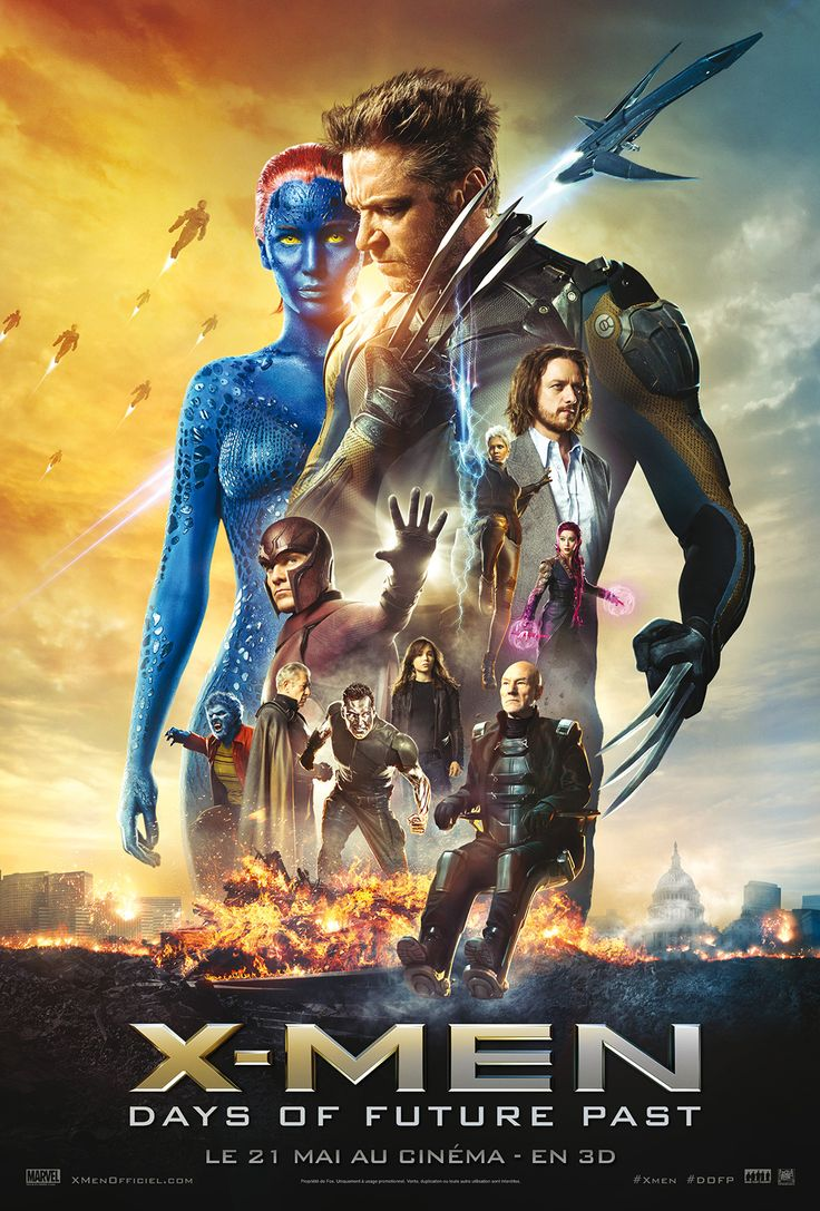 (Mai 2014) Les X-Men envoient Wolverine dans le passé pour changer un événement historique majeur, qui pourrait impacter mondialement humains et mutants.