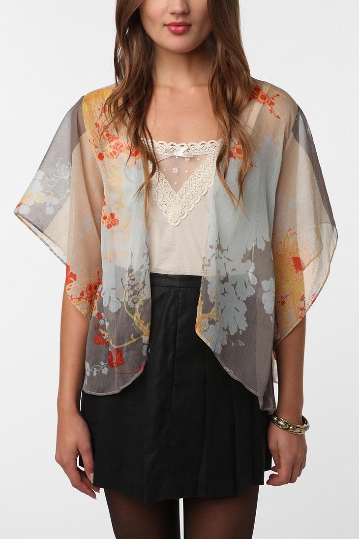 kimono style jacket | Kimono Jacket