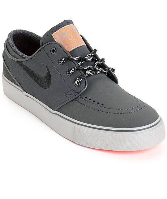 Nike SB Stefan Janoski Reflective Boys Skate Shoes