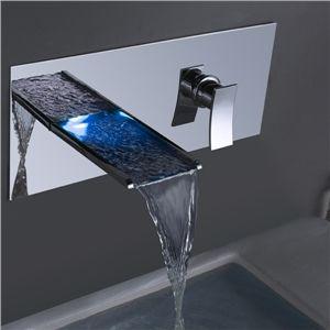 Stunning LED Wasserhahn Tap Waschtischmischer u