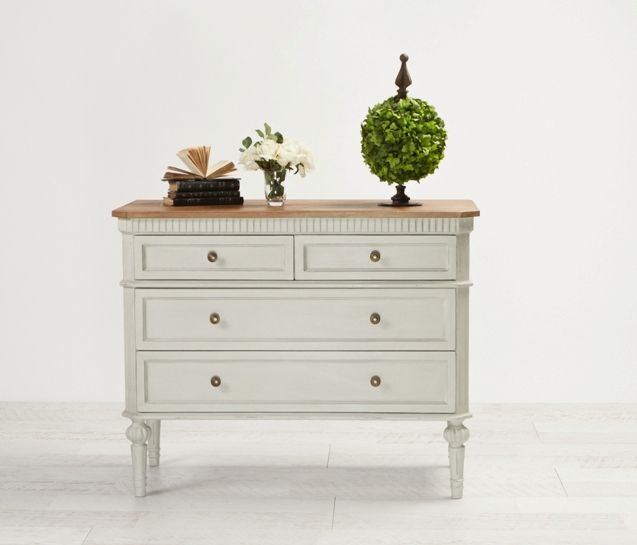 Maxime Dresser Light Grey from Villa Maison #hamptonsstyle #hamptons #interiors #design