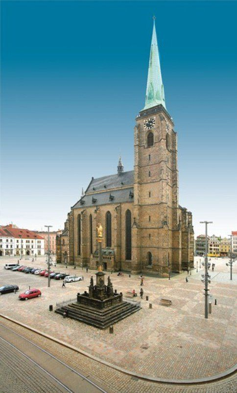 St.Bartolomeus cathedral in Plzeň (Pilsen, West Bohemia), Czechia