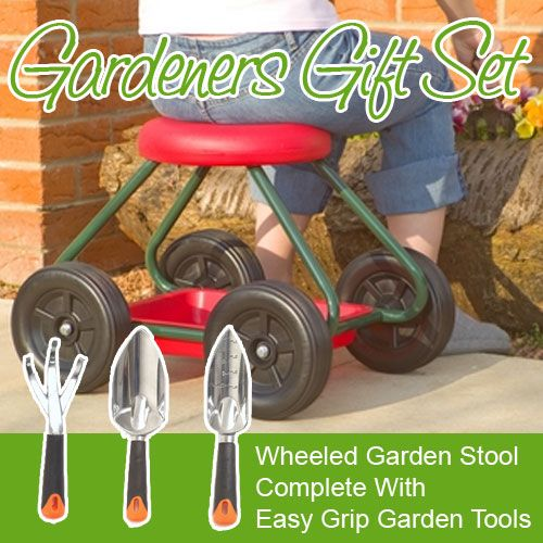 Find This Pin And More On Garden Bits And Pieces . Garden Stool On Wheels