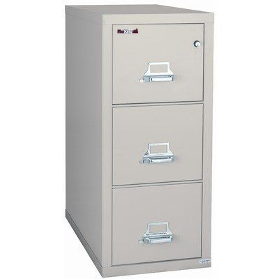 FireKing 2-Hour Rated Three-Drawer Vertical Letter File 3-1943-2 Finish: Sand, Lock: Combination Lock by Fire King. $3360.12. 3-1943-2+-3006 Finish: Sand, Lock: Combination Lock Features: -Two-position drawer catch allows access to certain drawers while others remain locked.-Fireproof insulation is made with Thermocell II, a proprietary insulation which provides twice the average protection.-Insulation between all drawers makes each one a separate insulated co...