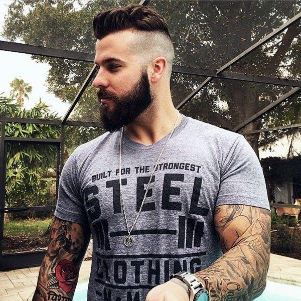 Cool 1000 Ideas About Beard Styles For Men On Pinterest Cool Beard Short Hairstyles Gunalazisus