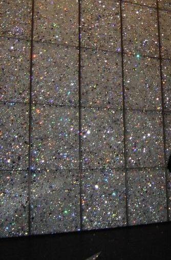 glitter tile