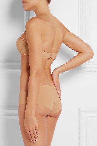 La Perla - Up Date Seamless Stretch-jersey Briefs - Neutral - 5
