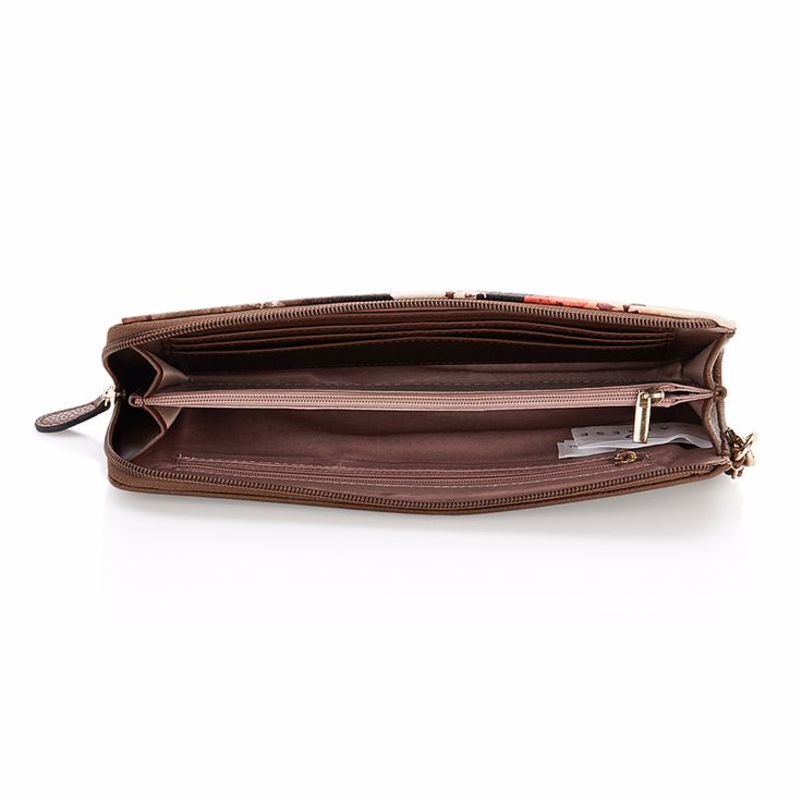 Spacious enough to keep your money as well as cards. Caprese Clutch