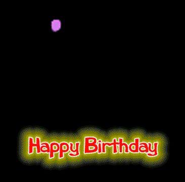 Resultado de imagen para happy birthday gif animado