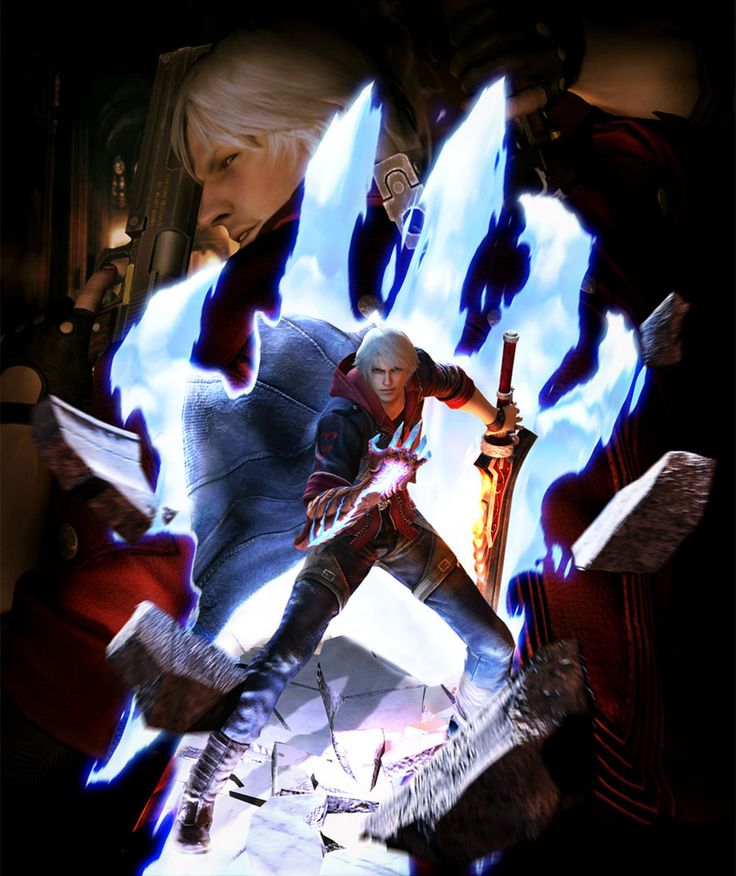 Dante & Nero Promo Art Devil May Cry 4
